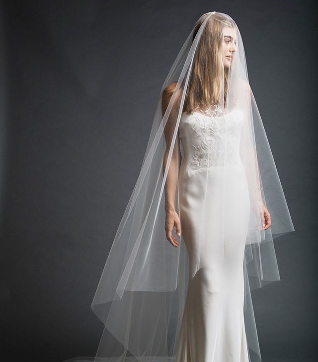 Preston and Olivia Cathedral Veil