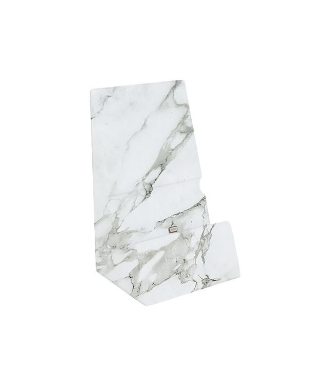 Adam Hunter STND White Marble iPhone Stand