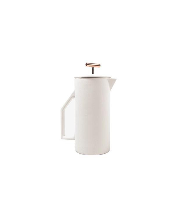 Poketo Ceramic and Copper French Press