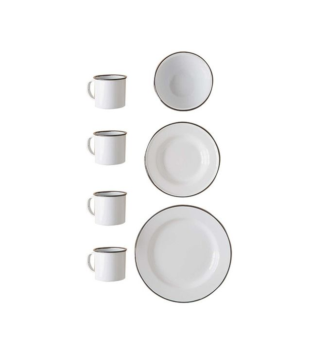 Urban Outfitters 16-Piece Enamelware Starter Kit