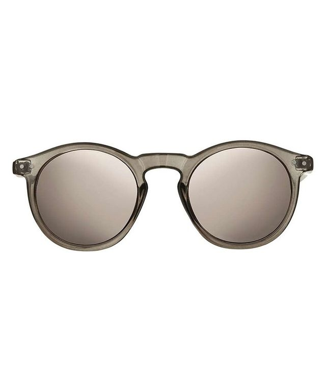 Topshop Lila Round Sunglasses