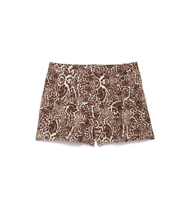 The Kooples Leopard Shorts