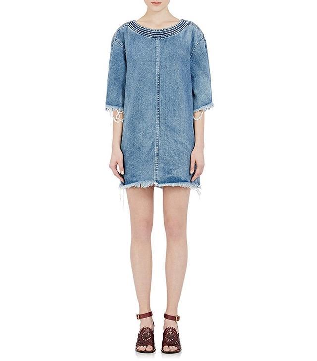 Chloé Fringe Denim Dress