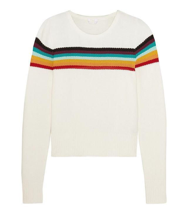 Chloé Striped Cotton Sweater
