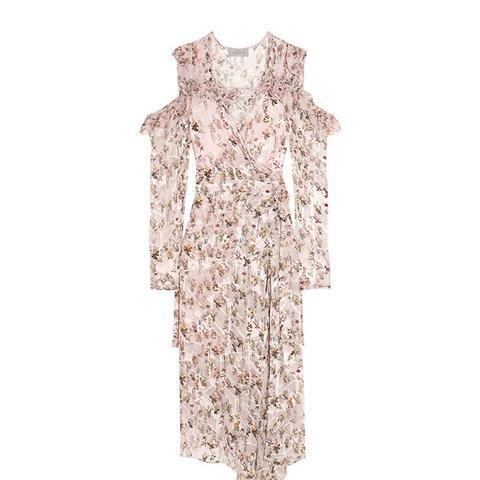 Alberta Floral-Print Wrap Dress