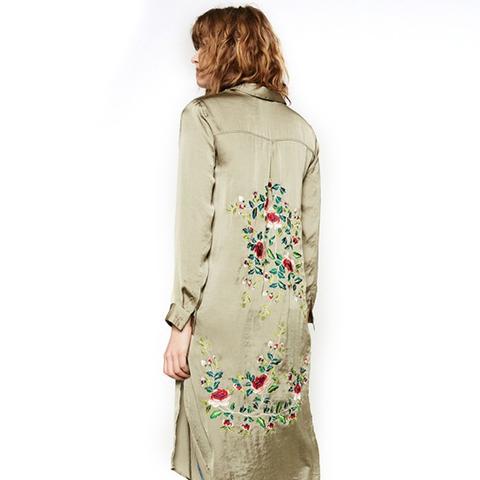 Long Floral Shirt