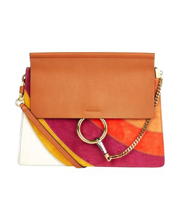 Chloé Faye Rainbow Medium Shoulder Bag