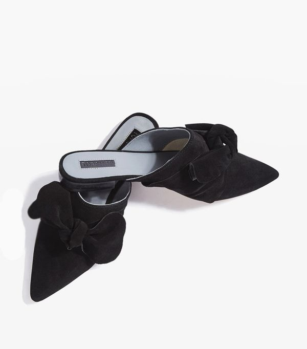 How to Wear Black In Summer: Topshop Kara Pointy Flats