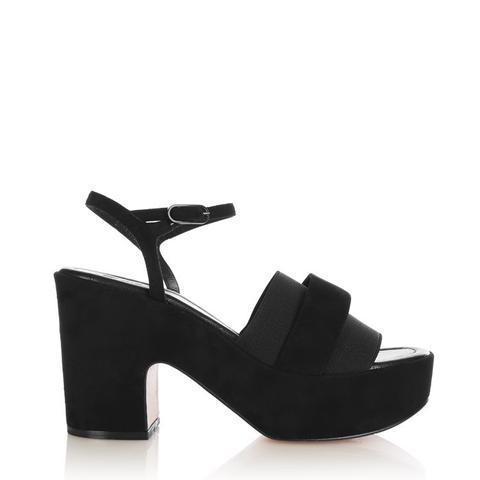 Etore Suede Platform Sandals