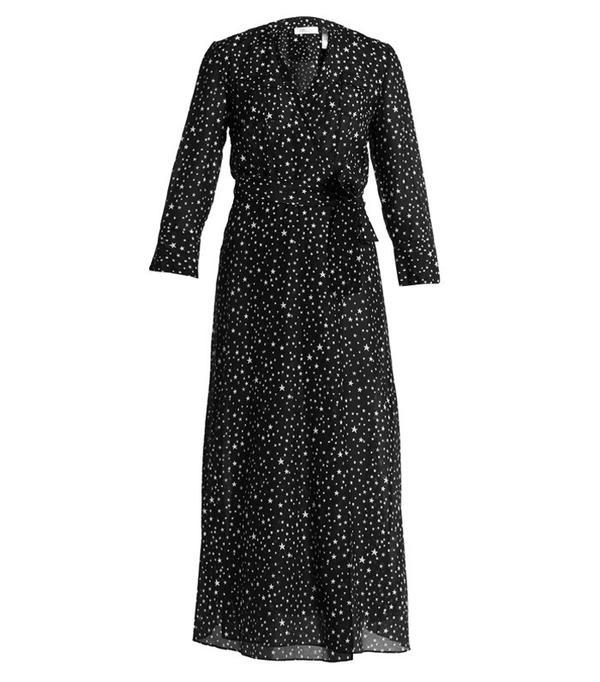 How to Wear Black In Summer: DVF Viete Dress