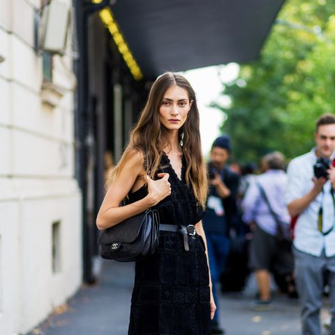 How to Wear Black In Summer: Ankle boots are always on the menu.
