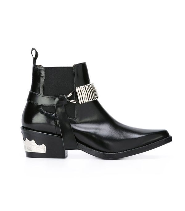 How to Wear Black In Summer: Toga Pulla Western Ankle Boot