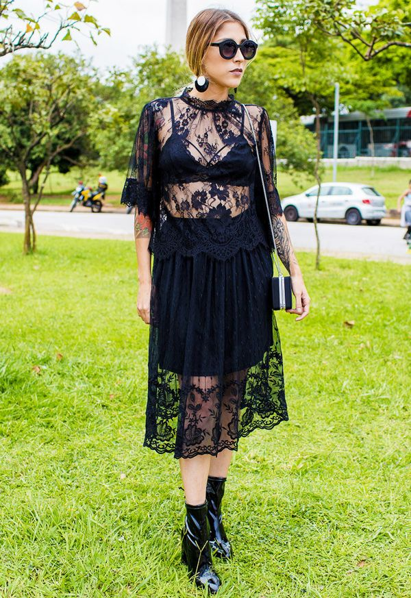 How to Wear Black In Summer