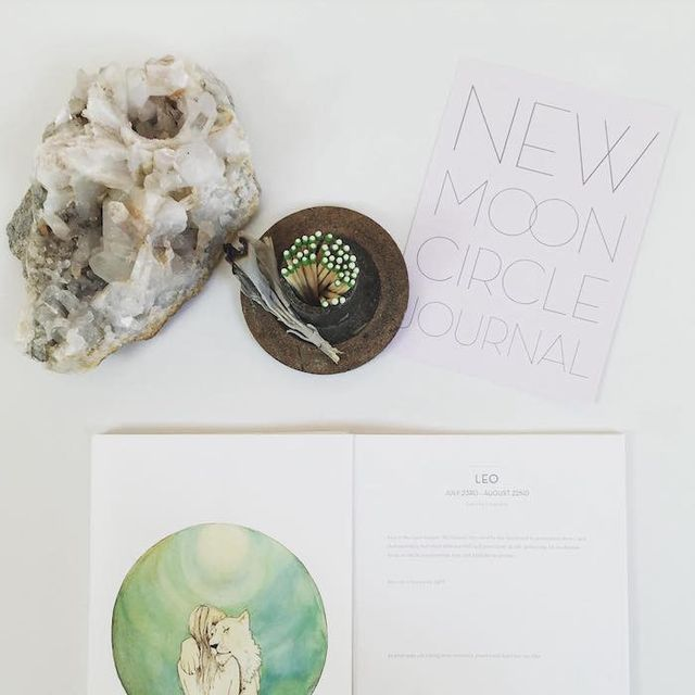 New Moon Circle Journal