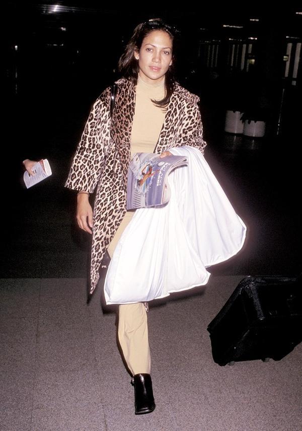 We'd like a modern-day version of Jennifer Lopez's cheetah-print coat.