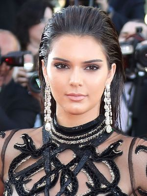 Everyone's Talking About Kendall Jenner's Sheer Cannes Gown