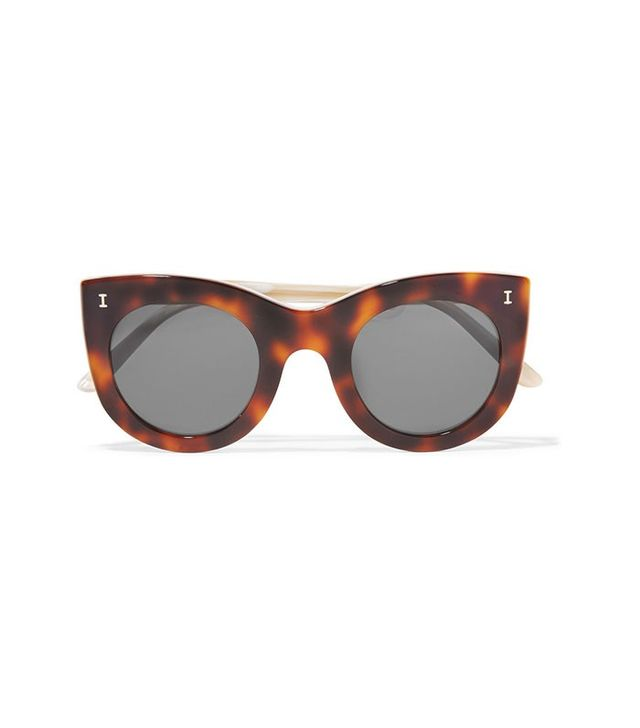 Illesteva Boca Cat-Eye Acetate Sunglasses