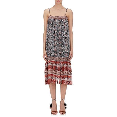Imane Midi-Dress