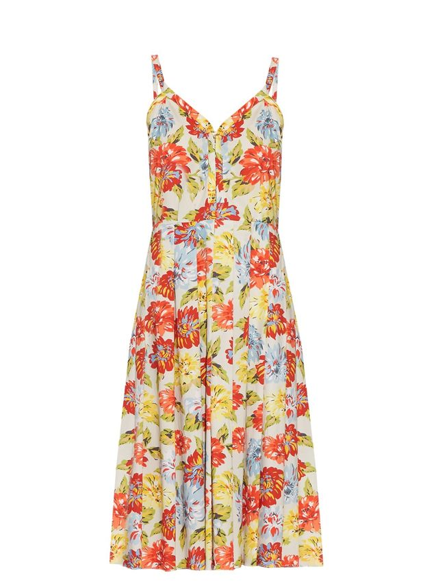 Emilia Wickstead Juliet Floral-Print Dress