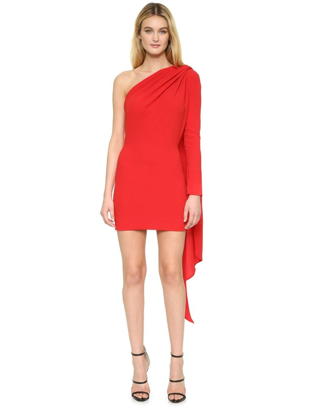 Gareth Pugh One Shoulder Dress