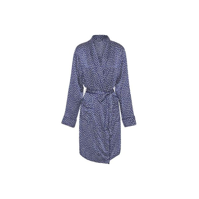 Jasmine and Will Silk Dot Robe