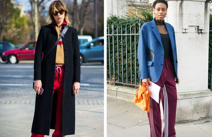 How to wear a tracksuit: wear with a smart jacket or coat