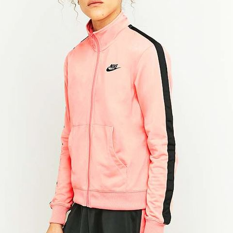 Pink and Black Tracksuit Top