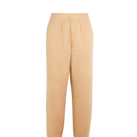 Cotton-Blend Fleece Track Pants