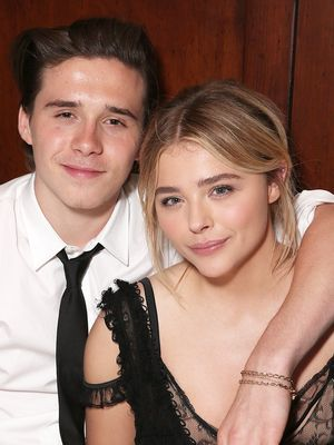Chloë Grace Moretz & Brooklyn Beckham Make Their Chic Red Carpet Debut Together