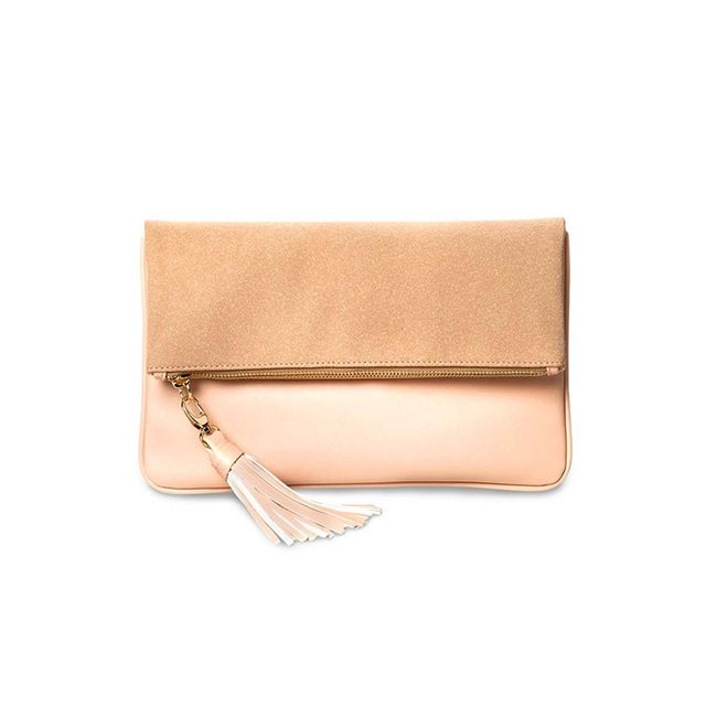 Who What Wear Foldover Clutch