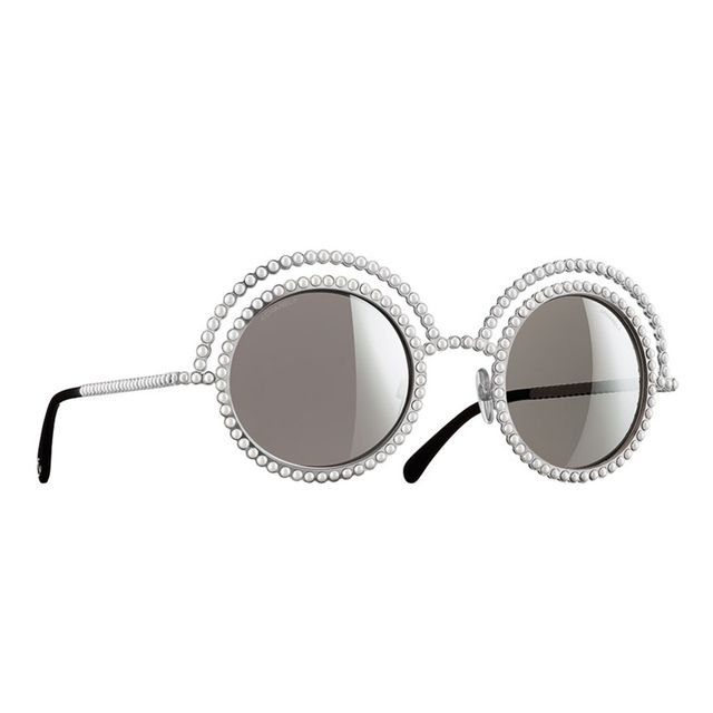 Chanel Round Runway Sunglasses