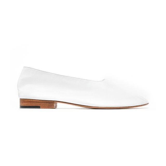Martiniano Glove Shoes in White