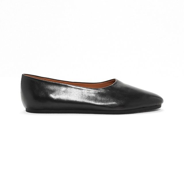 & Other Stories Leather Ballerinas