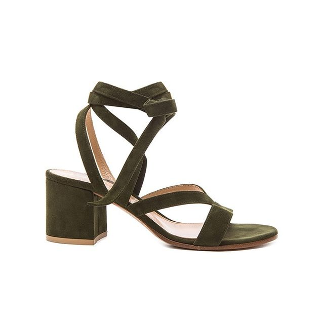 Gianvito Rossi Janis Low Sandals