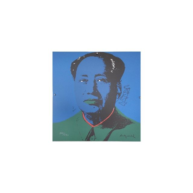 Andy Warhol Lithograph Mao Zedong