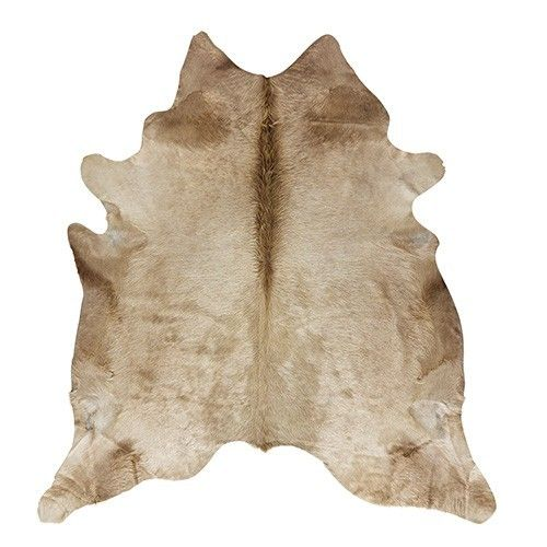 NSW Leather Natural Cowhide Rug - Latte