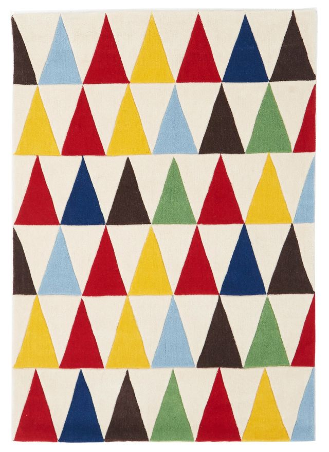 Temple and Webster Bunting Multi Coloured Rug