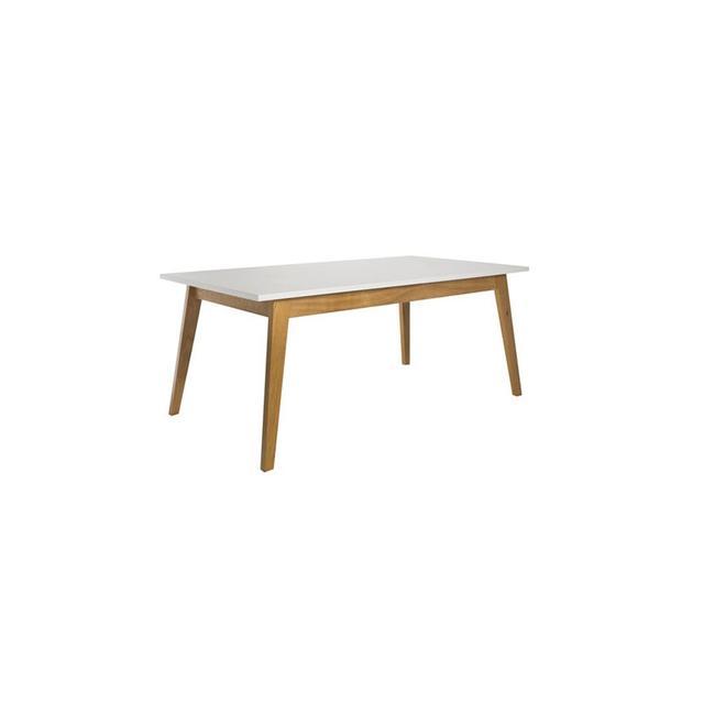 Freedom Frieda Dining Table 160x90cm in Oak/White