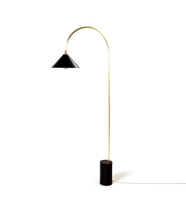 Coil + Drift Bishop Floor Lamp
