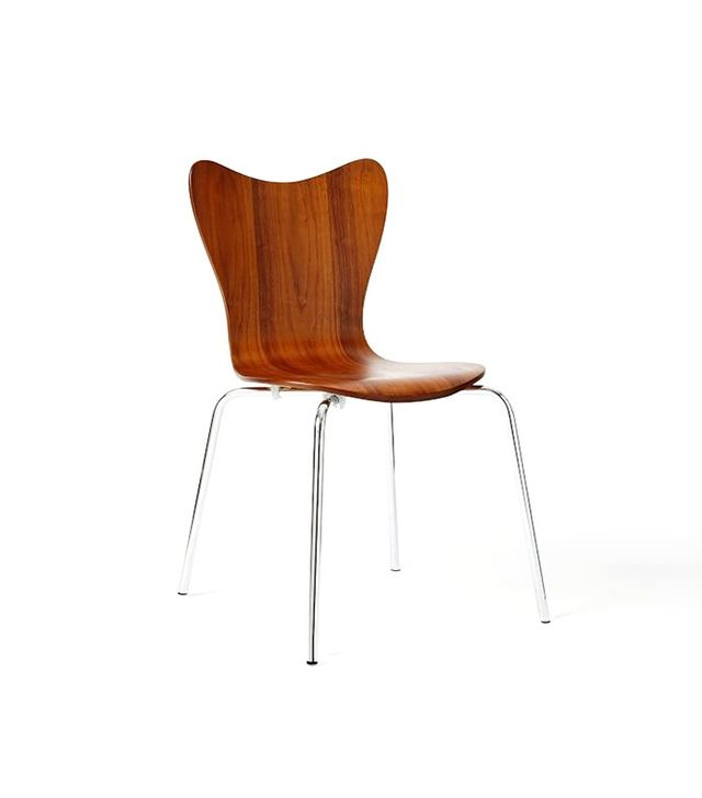 West Elm Scoop-Back Chair
