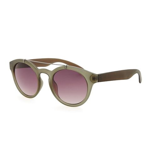 Notched-Bar Sunglasses