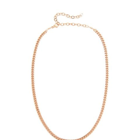 JA Flat Chain Necklace