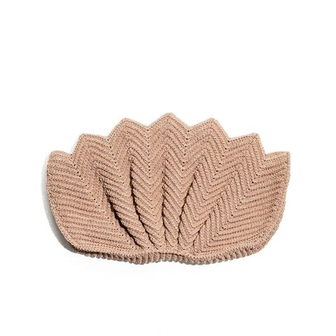 Shell Knit Clutch
