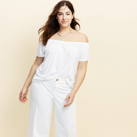 Wide-Leg Plus-Size Culottes