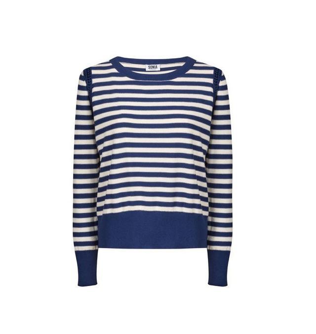 Sonia Rykiel Pullover Striped Sweater