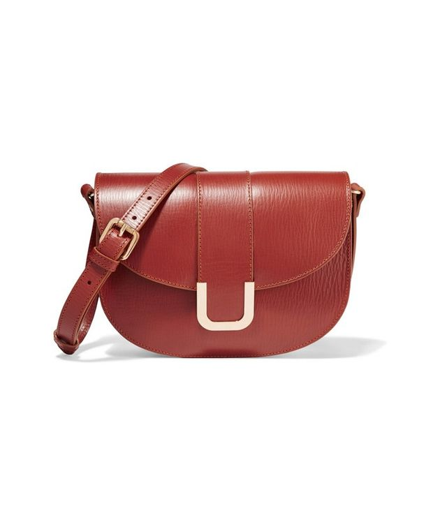 A.P.C. Sac Soho Textured Leather Shoulder Bag