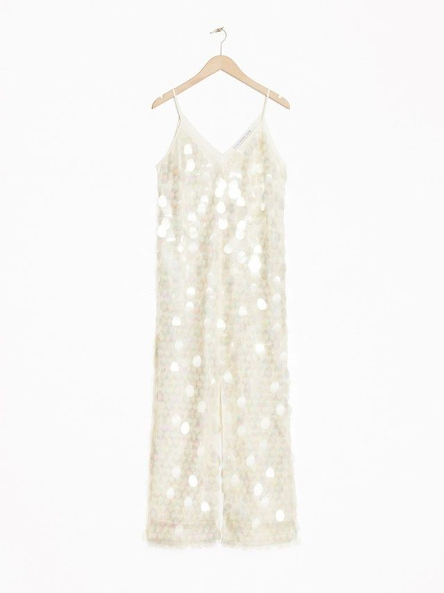 & Other Stories Maxi Sequin Dress