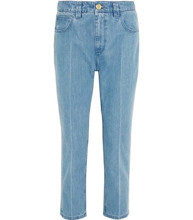 Marques'Almeida Frayed Hem Jeans