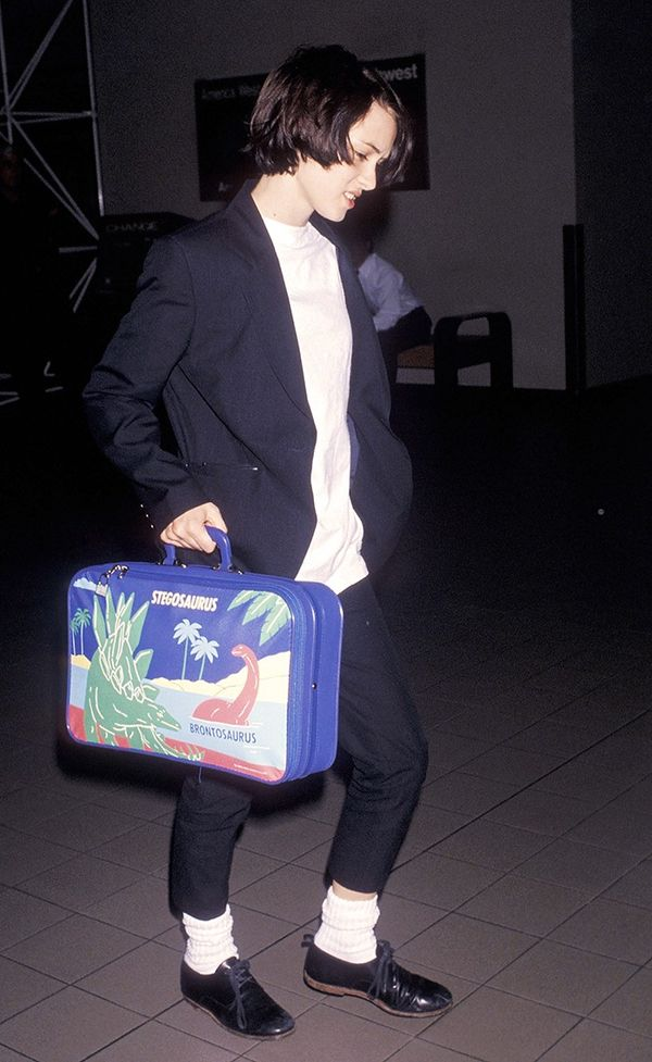 Just try to find a suitcase cooler than Winona Ryder's. Just you try.