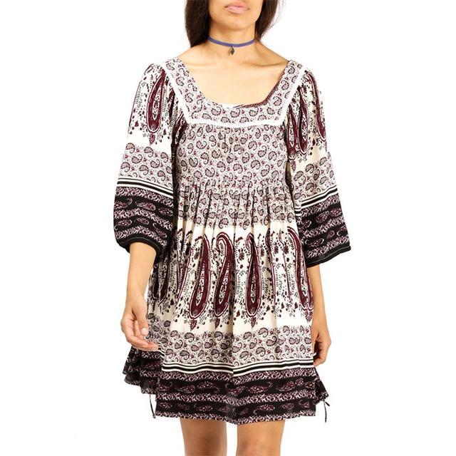 Azalea Cecilie Paisley Boho Dress